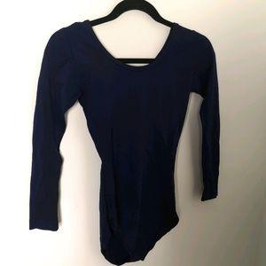 Vintage Women's navy blue onesie